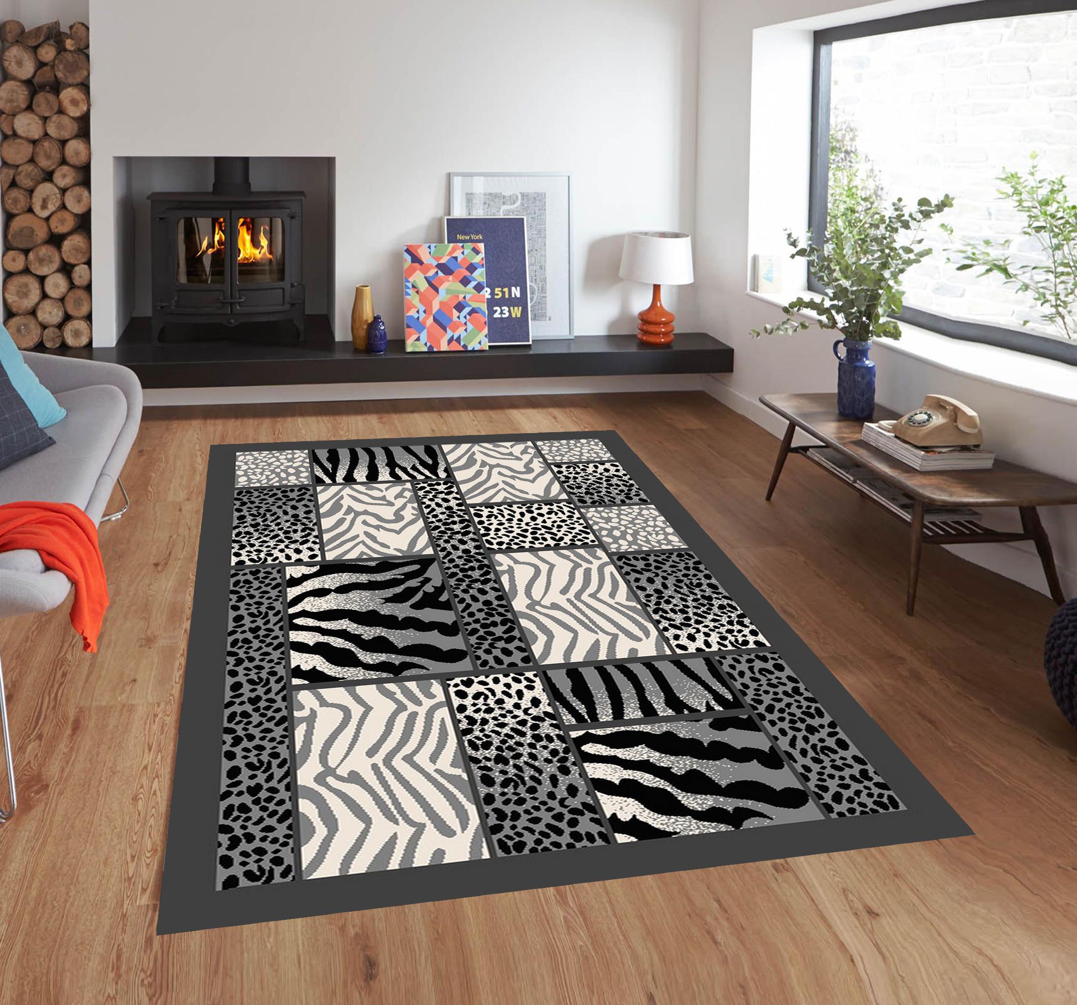 tamara collection carpet in grey
